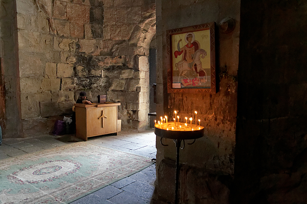 Inside the Jvari Church, Mtskheta Photograph by Vyacheslav Argenberg