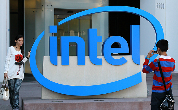 Intel Reports Quarterly Earnings Photograph by Justin Sullivan
