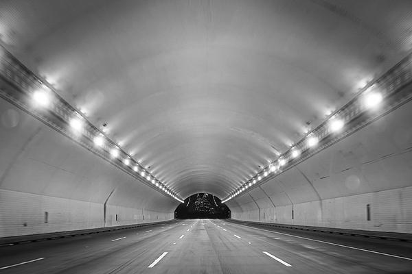 Interior Of Illuminated Tunnel Photograph by Jesse Coleman / EyeEm