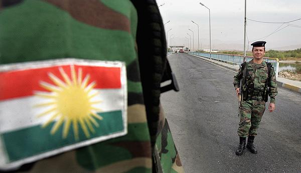 Iraqi Kurdish Peshmerga Increase Security at Border with Turkey Photograph by Wathiq Khuzaie