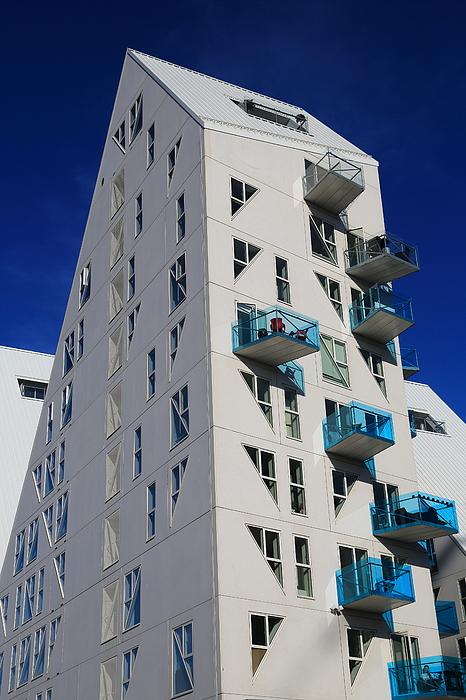Isbjerget residental modern Housing in Aarhus, Denmark Photograph by Pejft
