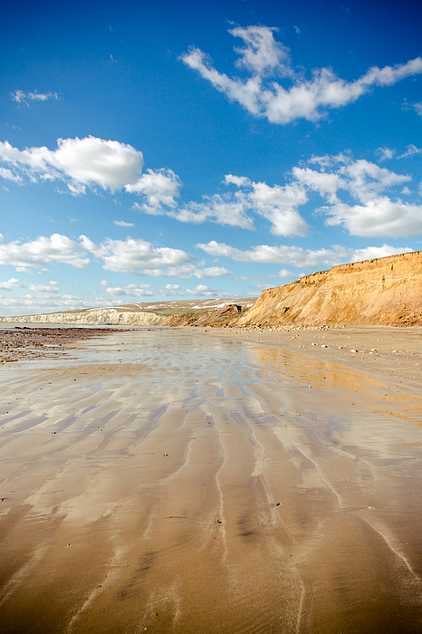 Isle of Wight Lines Photograph by s0ulsurfing - Jason Swain