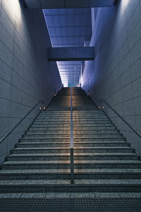 Japanese corporate architectural detail. Photograph by Merten Snijders