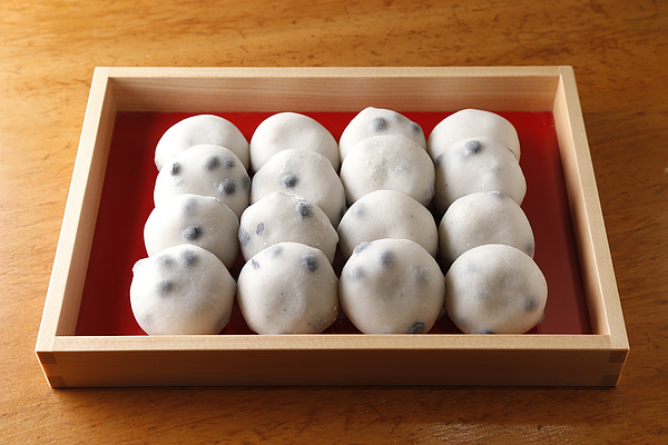 Japanese sweets Photograph by Kazuhide Isoe