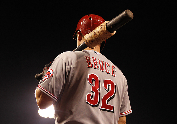 Jay Bruce Photograph by Justin K. Aller