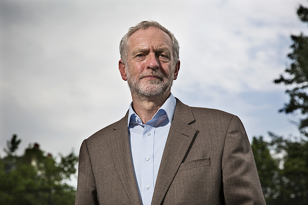 Jeremy Corbyn Takes The Lead In The Labour Leadership Race Photograph by Dan Kitwood