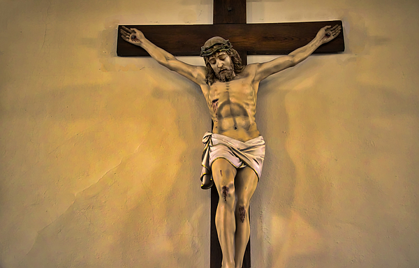 Jesus on the Cross Photograph by ImageFirstDesigns