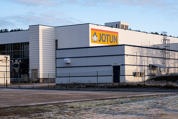 Jotun Paint Main Factory In Sandefjord Norway Photograph by Finn Bjurvoll Hansen