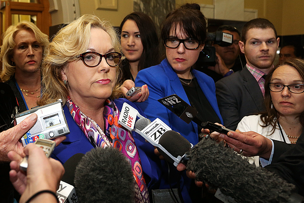 Justice Minister Judith Collins Attends Question Time Photograph by Hagen Hopkins