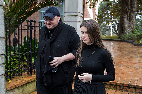 Kim Dotcom Court Appearance Photograph by Dave Rowland