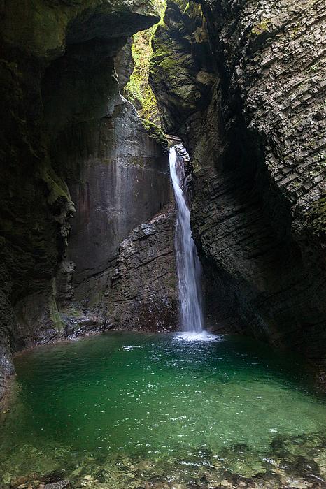 Kozjak Waterfall Photograph by Wolfgang Wörndl