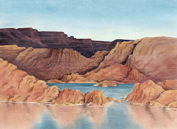 Lake Powell Drawing by IlexImage