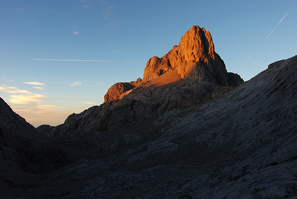 Last Light In Picos De Europa In A Sunset Scene Photograph by Created by Tomas Zrna