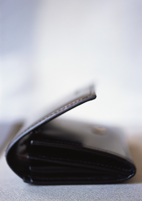 Leather Wallet, Close-up, Blurred Photograph by Michele Constantini