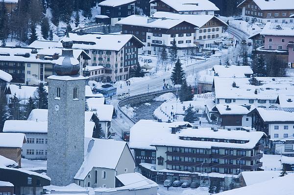 Lech, Arlberg, Austria, Europe Photograph by Neil Emmerson / robertharding