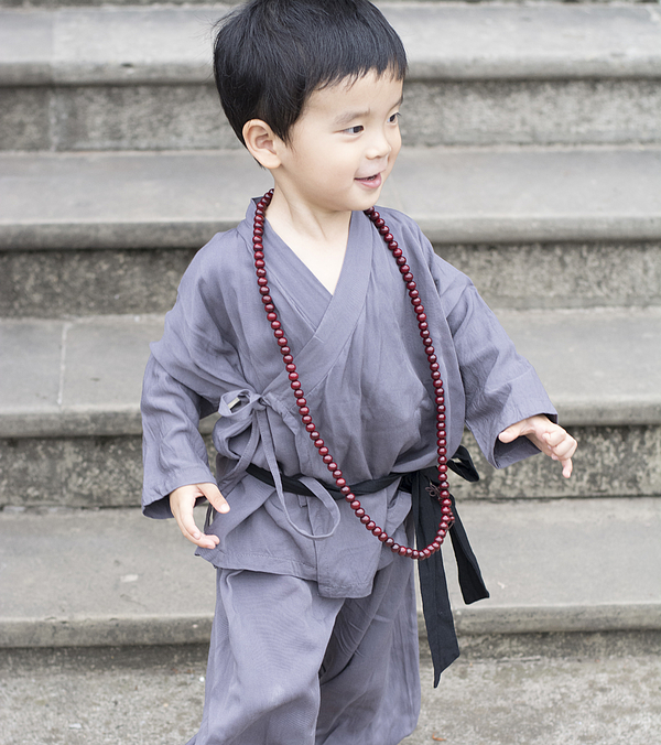 Little Apprentice Monk Is Running Photograph by W6