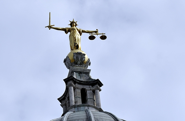 London courts stock Photograph by Nick Ansell - PA Images