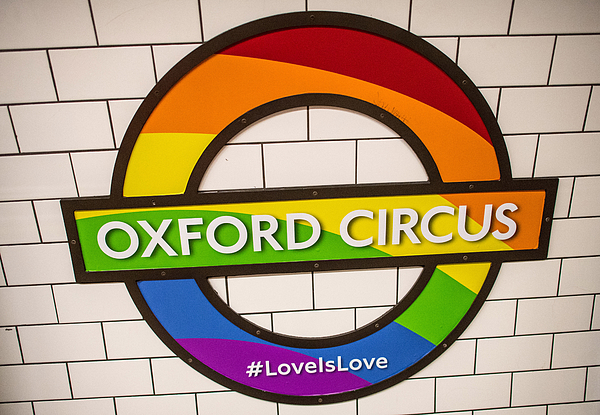 London Supports Gay Pride 2017 Photograph by Carl Court