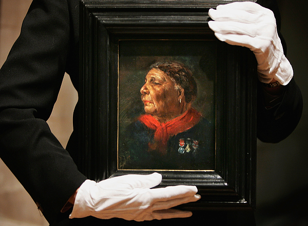 Lost Portrait Of Mary Seacole Unveiled At National Portrait Gallery Photograph by Bruno Vincent