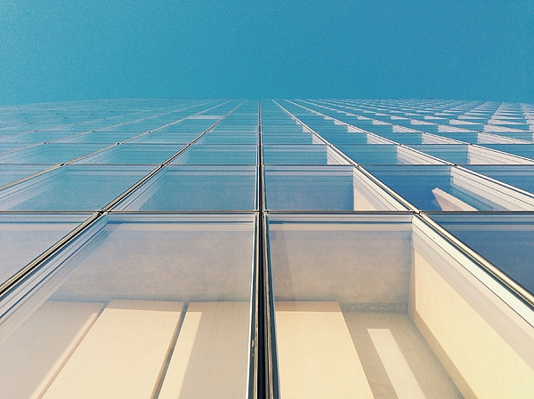 Low Angle View Of A Building Photograph by Margot Gabel / FOAP