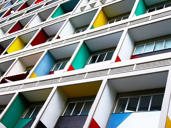 Low Angle View Of Apartment Balconies Photograph by Joo Oliveira / EyeEm