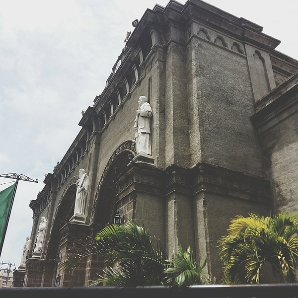 Low Angle View Of Manila Cathedral Against Sky Photograph by April Arsulo / EyeEm