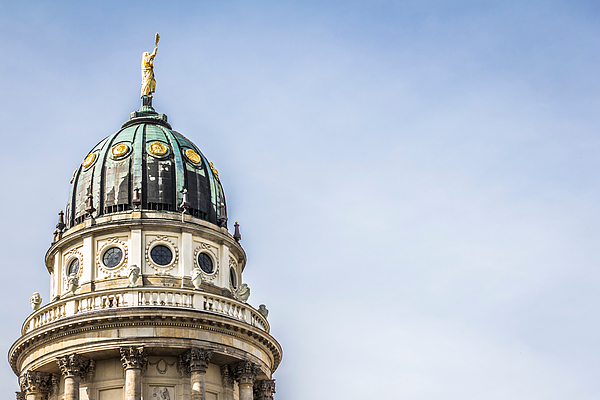 Low Angle View Of Neue Kirche Against Sky In City Photograph by Simon Asquith / EyeEm