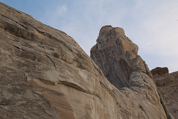 Low angle view of rock formations Photograph by Fotosearch