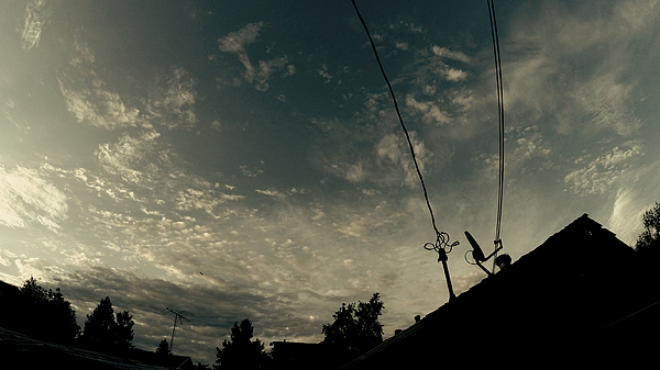 Low Angle View Of Silhouette Cables Against Sky Photograph by Chris Phillips / EyeEm