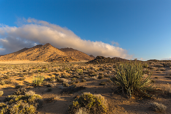 Low clouds over Richtersveld Photograph by Hannes Thirion
