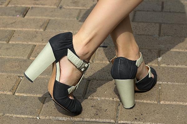 Low Section Woman In High Heel Sandals Photograph by Matt Josephson / EyeEm