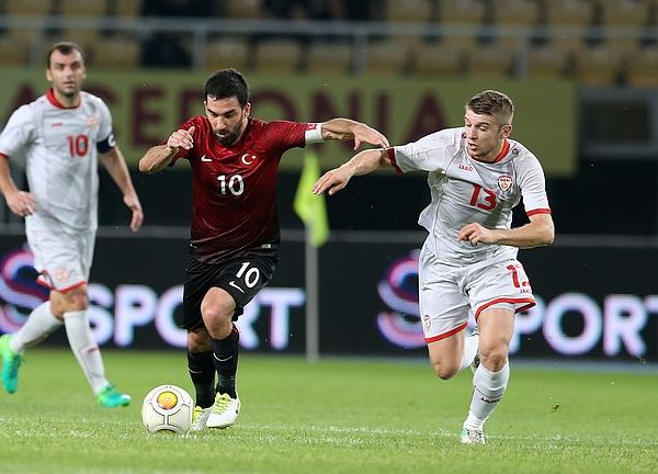 Macedonia v Turkey - Friendly Match Photograph by Anadolu Agency