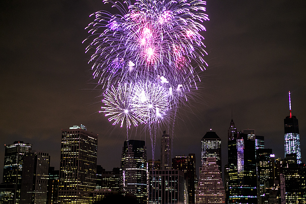 Macy´s Fireworks 4th Of July In Ny Photograph by A6u3ad