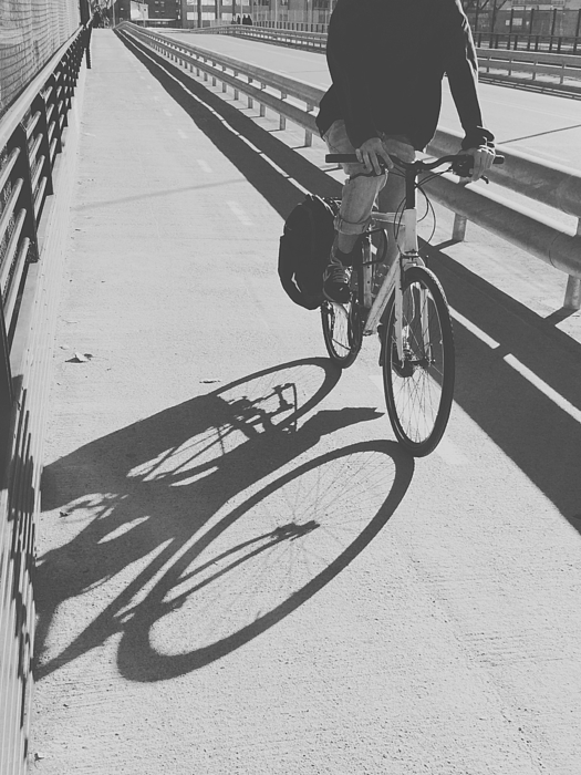 Man Riding Bicycle On Road Photograph by Vctor Del Pino / EyeEm