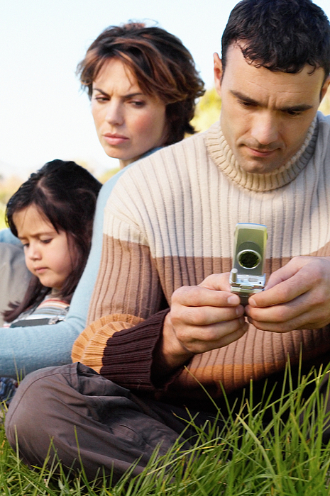 Man using mobile phone Photograph by Image Source