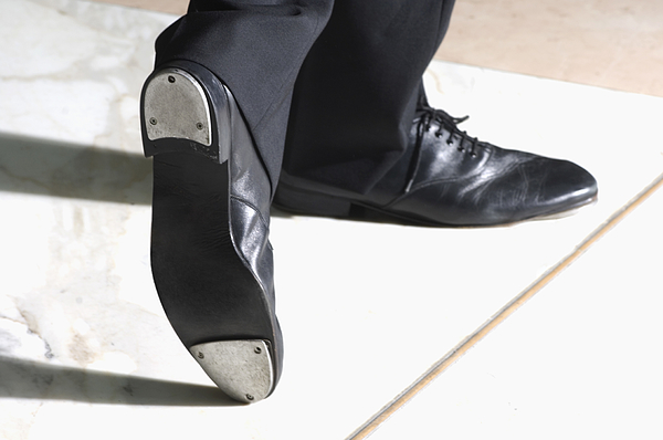 Man wearing tap shoes Photograph by Polka Dot Images