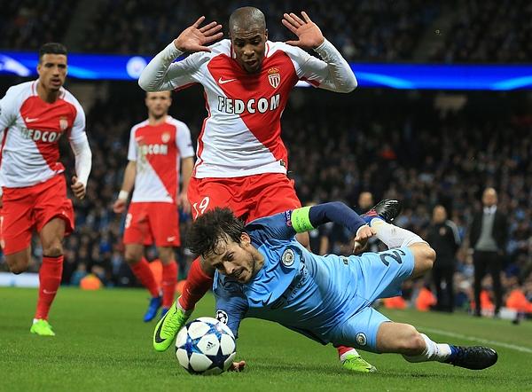 Manchester City FC v AS Monaco - UEFA Champions League Photograph by Anadolu Agency