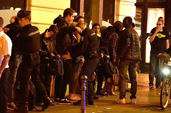 Many Dead After Multiple Shootings In Paris Photograph by Pascal Le Segretain