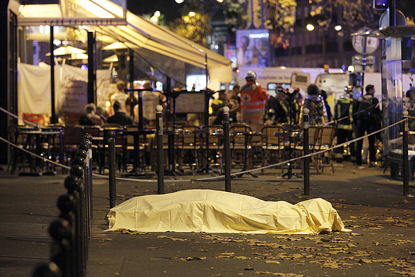 Many Dead After Multiple Shootings In Paris Photograph by Thierry Chesnot