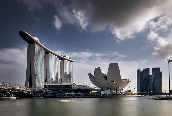 Marina Bay Sands Photograph by Bernd Schunack