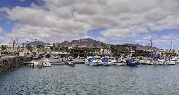 Marina Rubicón in Lanzarote Photograph by Copyright by Laszlo Szirtesi