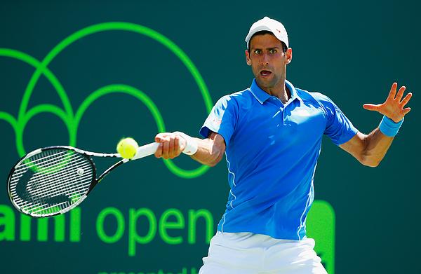 Miami Open Tennis - Day 14 Photograph by Al Bello