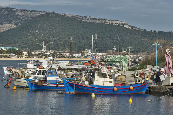 Microlimani, Kavala Photograph by Salvator Barki