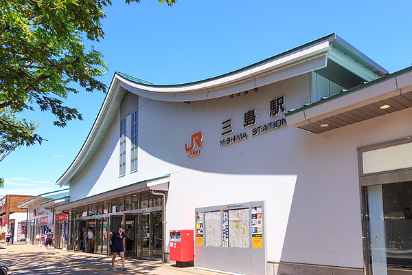 Mishima Station From Sounth Entrance Photograph by Museimage