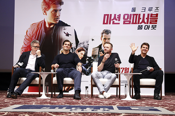 mission: Impossible - Fallout Seoul Special Guest Theater Visit Photograph by Chung Sung-Jun