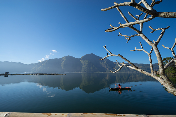 Morning At Lake Batur Photograph by Shaifulzamri