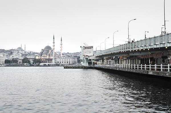Morning Time At Galata Bridge, Istanbul Photograph by Tanatat pongphibool ,thailand