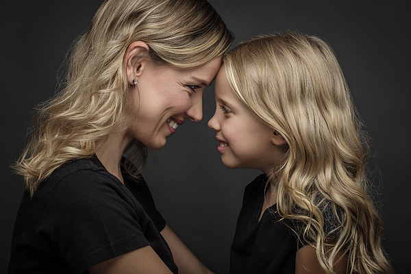Mother and Daughter Photograph by Simon Fuller Imagery