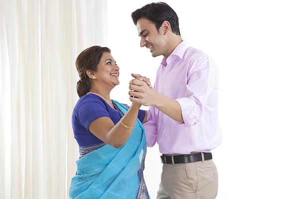 Mother and son dancing together Photograph by Ravi Ranjan