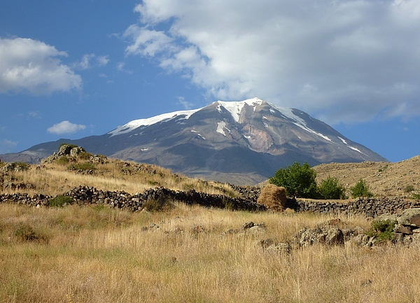 Mount Ararat in Eastern Turkey Photograph by Frans Sellies